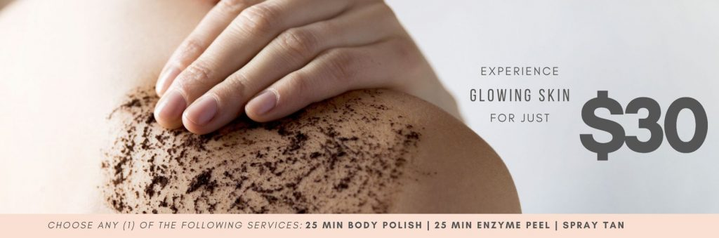 EXPERIENCE GLOWING SKIN FOR JUST $30